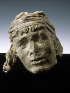 Kopf mit der Binde des Naumburger Meisters