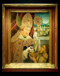 Portrait des Kardinal Albrecht von Brandenburg