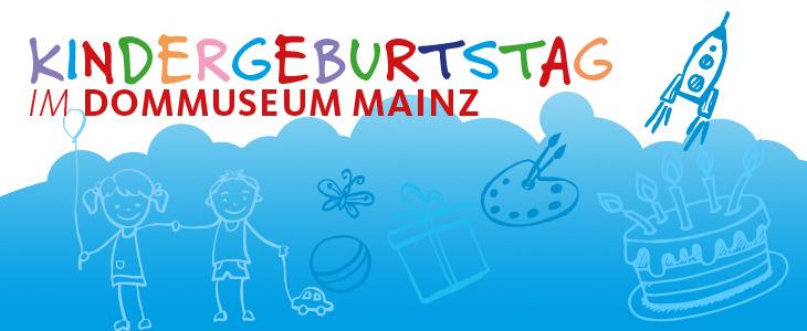 Kindergeburtstag im Dommuseum Mainz